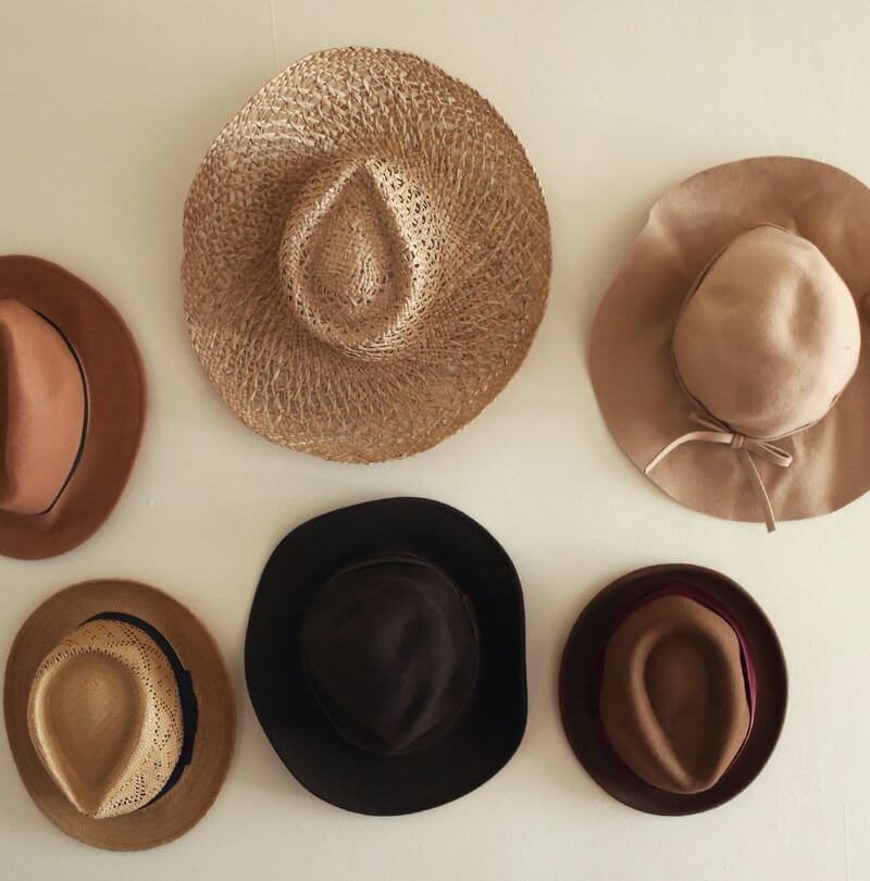 Hats as Wall Art
