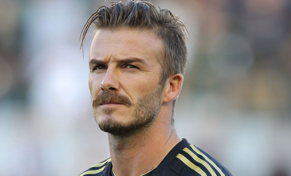 Movember Magic David Beckham