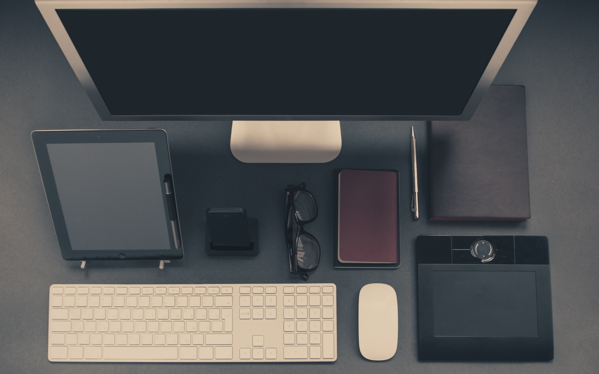 Organised Desks