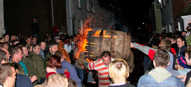 Bonfire Traditions Ottery St Mary